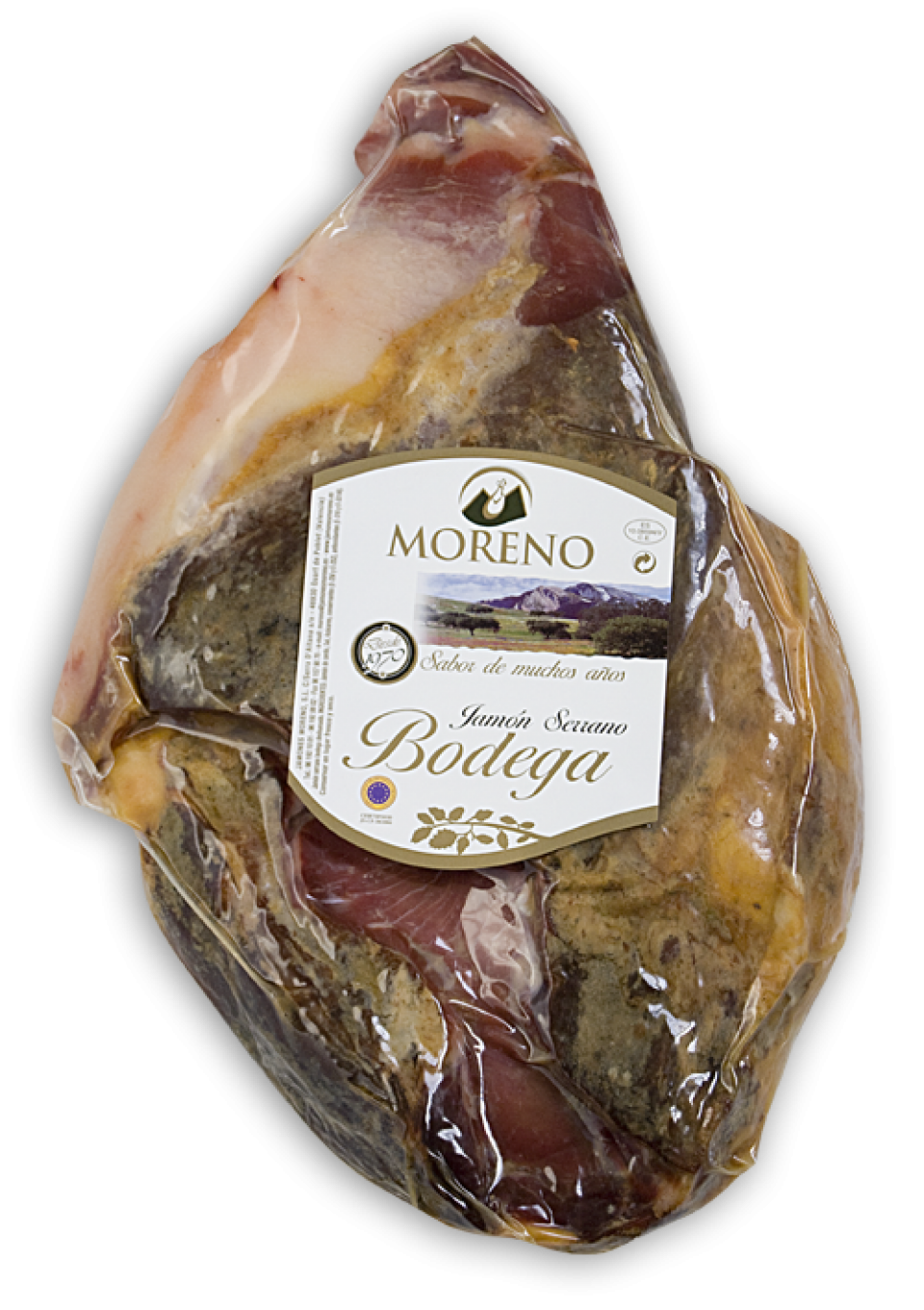 SERRANO HAM / BONED / WITHOUT SKIN / SPANISH MOULD